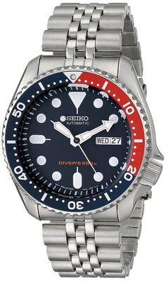 Amazon.com: Seiko Men's SKX175 Stainless Steel Automatic Dive Watch: Seiko: Watches