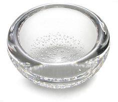 KAJ FRANCK - Glass bowl ('Blister bowl') for Iittala, in production Finland. [Ø cm, h. 4 cm] - Designed during Kaj Franck's short Iittala period Glass Design, Design Art, Modern Design, Corning Glass, Glass Museum, Arts Award, Unique Words, Victoria And Albert Museum, Museum Of Modern Art