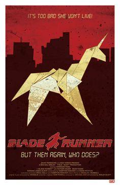 Blade Runner  Retro Movie Poster