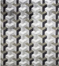 3d illusion afghan block pattern   are fascinated by tumbling blocks patterns and other optical illusions ...