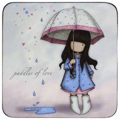 Gorjuss sous la pluie ... le printemps n'est pas tout à fait là