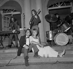 """Grateful Deb"" (When the Dead played a debutante ball in '66) // ARTICLE LINK // (Photos: Bill Young/The Chronicle 1966)"