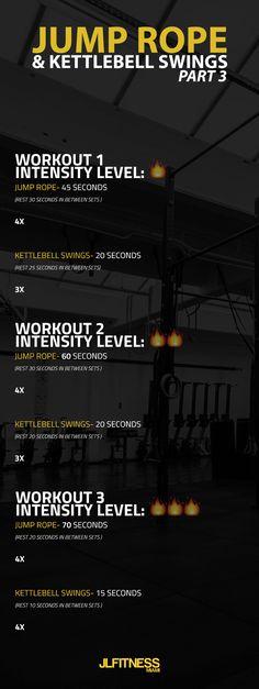 #fitness #jumprope #kettlebells #wod #workout