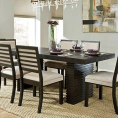 espresso dining room table - Google Search