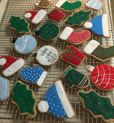 Imagine your lil' Chef with a fresh batch of FELT Christmas cutout cookies to open on Christmas morning❣Order a set at FeltSewReal@aol.com