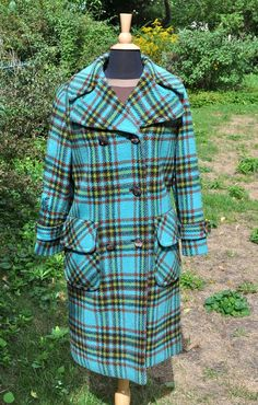 Vintage Wool Coat $70