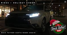 Doing Good: Rock Father Santa Rides Again! (Delivering Toys in a Mitsubishi Outlander) via @therockfather