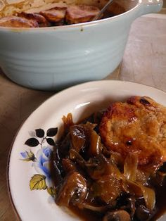 It's the Marmite in this mushroom and ale cobbler that makes it so rich