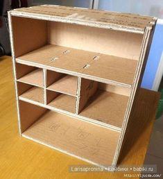 Мастер-класс - кукольный шкаф своими руками