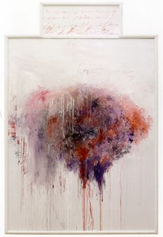 hardtoreadings:Cy Twombly, Untitled (Analysis of the Rose as...