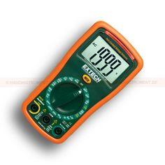 http://handinstrument.se/multimeter-r742/multimeter-med-voltdetektor-53-EX310-r750  Multimeter med voltdetektor  DMM med valbart mätområde med 9 funktioner och 0,5% grundläggande noggrannhet  AC / DC Spänning & ström, resistans, diod / kontinuitet  Inbyggd beröringsfri AC spänningsdetektor (NCV) med röd LED-indikator och hörbar summer  Batteritest funktion för 1.5V och 9V-batterier  Stor-siffrig 2.000 count LCD-display  10A max ström  Indikator för låg batterinivå  Komplett...