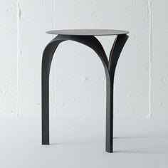 Trio stool by Mile carbon fibre