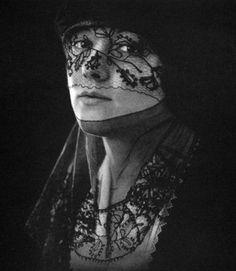 ☫ A Veiled Tale ☫ wedding, artistic and couture veil inspiration - Van Raalte veils, 1921