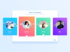 Select Categories by Hoang Nguyen #Design Popular #Dribbble #shots