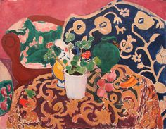 Still Life Brushstrokes. Nature Morte Painting by Henri Matisse Henri Matisse, Matisse Kunst, Matisse Art, Raoul Dufy, Matisse Pinturas, Maurice De Vlaminck, Matisse Paintings, Kunst Online, Hermitage Museum