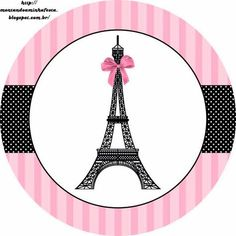 Paris Invitations and Free Party Printables 8th Birthday