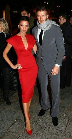 robe de soirée courte rouge portée par les stars