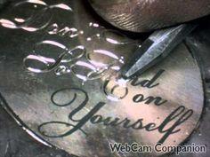 Hand Engraved Typography Token Liberty Silver 1942 Walking Half Dollar B...