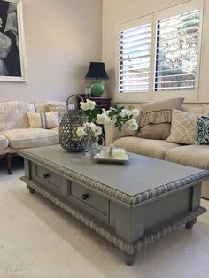 Farmhouse Coffee Table Makeover   Furniture Ideas, Furniture And Inspiration