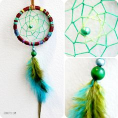 Forest Pixie Native Woven Dreamcatcher Necklace by eenk on Etsy, $29.00