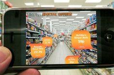Die #App #Sainsbury bringt Online-Inhalte in die Verkaufsregale.