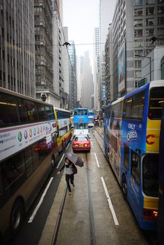 HK - Beating the Traffic on Foot