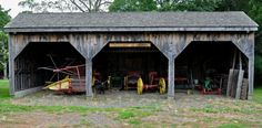 Farm Equipment Shed | by thomas p lang
