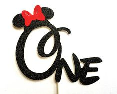 Minnie Mouse Cake Topper Gold Pink Glitter Minnie Cake Topper First Birthday Party Cake Stick One Minnie Cake Decoration Name Topper Custom Pumpkin Birthday Parties, 1st Birthday Party Supplies, 1st Birthday Girls, Mickey Mouse Birthday Theme, Minnie Mouse Party, Mouse Parties, Minnie Mouse Cake Topper, Minnie Cake, First Birthday Photography