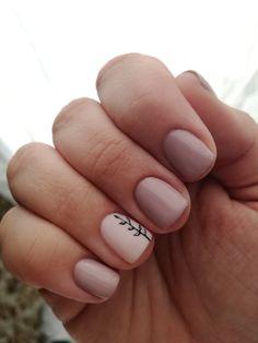 Nail Deco, Subtle Nail Art, Nail Games, Nail Stuff, Nail Polish Colors, Mani Pedi, Natural Nails, Nails Design, How To Do Nails