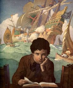N.C. Wyeth - artist http://media-cache-ec0.pinimg.com/originals/3f/cf/22/3fcf226d44b7f3fcd98d508270ec65e1.jpg