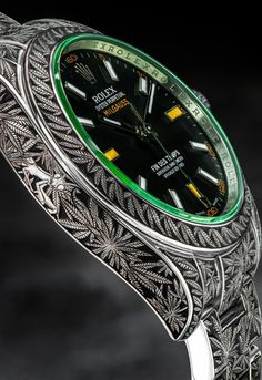 Very rarely do you see the world of marijuana clash with high-end brands such as Rolex, but thanks to Third Eye Assembly, this dream has come true.