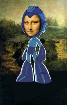 Mega Mona Lisa