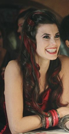 Meghan Ory-love the hair!