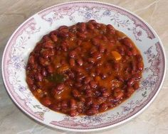 Mancare de fasole rosie Bean Recipes, Healthy Recipes, Romanian Food, Red Beans, Chana Masala, Vegetable Recipes, Chili, Food And Drink, Appetizers