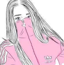 Resultado de imagen de dibujos de chicas tumblr