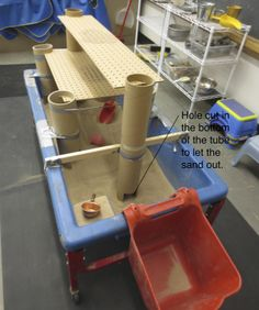 enhance your sand and water table with boxes and tubes sensory center pinterest awesome this is awesome and classroom