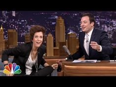 "Kristen Wiig Dressed As Harry Styles During Her ""Tonight Show"" Appearance...omg I cried."