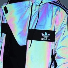 jacket adidas windbreaker coat adidas holographic windbreaker iridescent adidas jacket holographic jacket sportswear three stripes brands sportswear Source by mylifstry Holographic Jacket, Holographic Adidas, Holographic Fashion, Holographic Nails, Mode Outfits, Winter Outfits, Summer Outfits, Casual Outfits, Teen Fashion