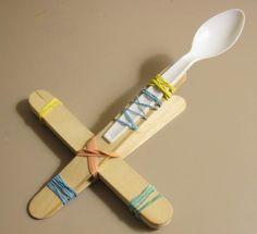 Mini Marshmallow Catapult my-children