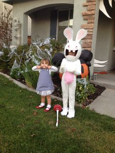 rabbid by darktruth via flickr rabbids cosplay pinterest photos and by - Raving Rabbids Halloween Costume