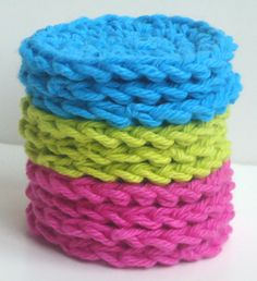 Crochet Scrubbies  Set of 10