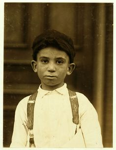 Lewis Hine: Young newsie, St. Louis, 1910 by trialsanderrors, via Flickr