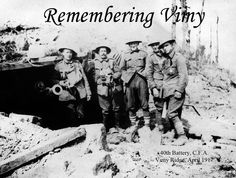 Vimy Ridge - 40th Battery Canadian Field Artillery - Doing Our Bit