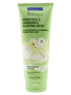 Honeydew & Chamomile Sleeping Mask from Freeman   Find more cruelty-free beauty @Quirkist  