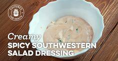 Creamy Spicy Southwestern Salad Dressing