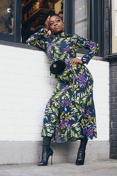 bershka-floral-dress