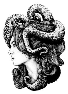 """Thalassa"" Art Print by Dan Mumford"