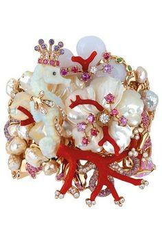 Victoire de Castellane Shows Fine Jewelry for Dior.    Dior Fine Jewelry Fall 2009  Photo by Courtesy Photo