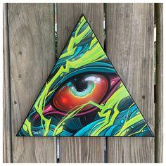 Image of Crazy Electric Eye Graffiti Piece, Graffiti Art, Graffiti Doodles, Dibujos Tattoo, Interesting Drawings, Japanese Drawings, Graffiti Characters, Affinity Designer, Skull Art