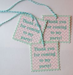 Printable aqua and lavender party supplies (Many themes and colors)